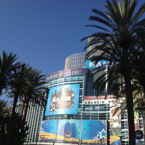 Day One at NAMM
