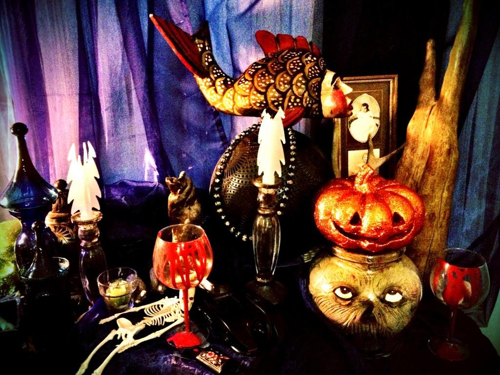 Halloween Decoration Display