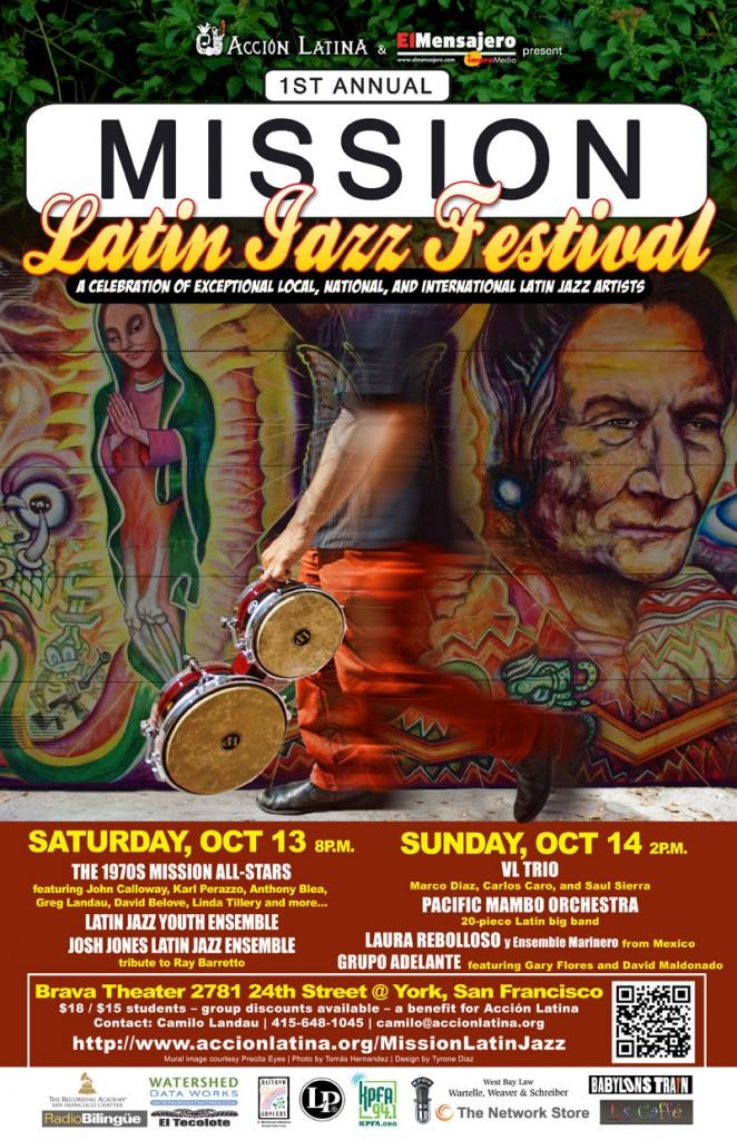 Mission Latin Jazz Festival poster