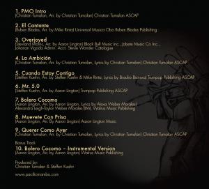 Pacific Mambo Orchestra back cover