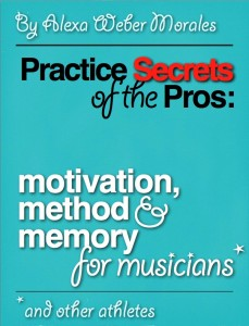 Practice Secrets of the Pros: Motivation, method and memory for musicians and other athletes