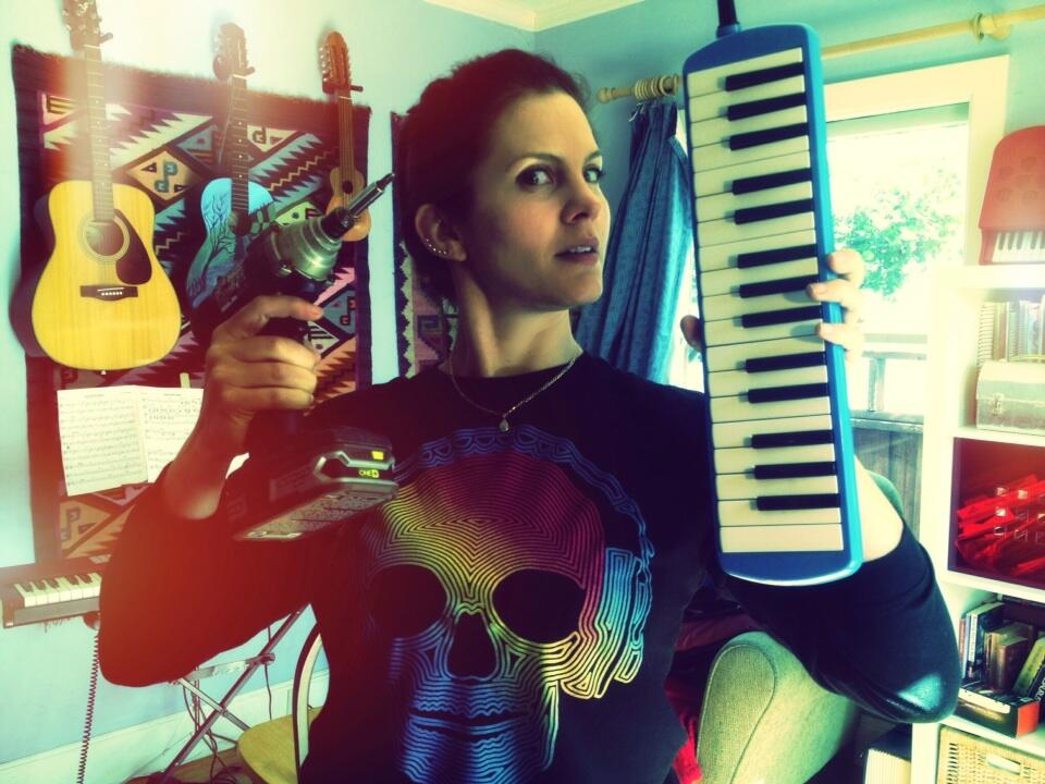 Alexa gives her melodica some pitch surgery