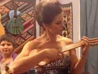 Alexa playing charanguito