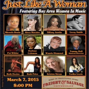 Lucindy Productions Presents 'Just Like a Woman' Feat. Rhonda Benin, Alexa Morales, Tiffany Austin, Lavay Smith, Tammy Hall and more!