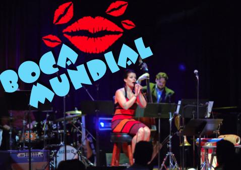 Boca Mundial live latin band Yoshis starring Alexa Weber Morales