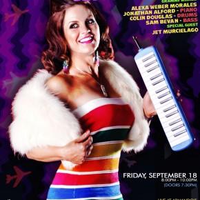 BOCA MUNDIAL starring ALEXA MORALES with special guest JET MURCIELAGO Friday 9/18 @ Armando's!