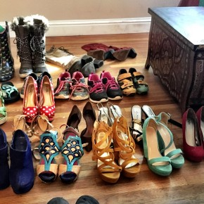 KonMari Method: Decluttering all shoes!