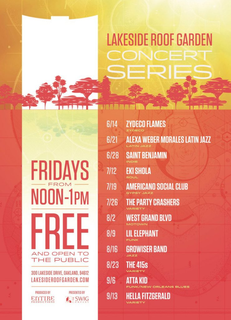Boca Mundial feat. Grammy winner Alexa Morales plays Lakeside Roof Garden Concert 6/21/19 noon-1pm